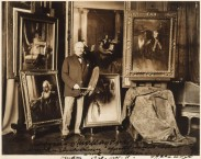 Portraits date from 1918-1929 and all were in artist's collection except for Londonderry. Possibly there to be sent to Charpentier Exhibition, Paris?
